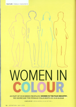 WOMEN IN COLOUR