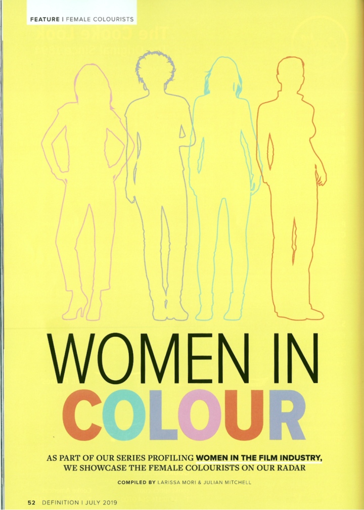 WOMEN IN COLOUR